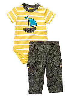 Carter's Sailboat 2-Piece Bodysuit