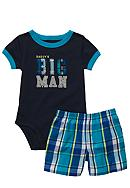 Carter's® Daddy's Big Man 2-Piece Short Set