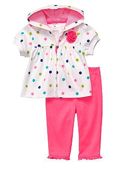 Carter's 2-Piece Polka Dot Cardigan Set