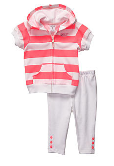 Carter's 2-Piece Whale Striped Cardigan Set