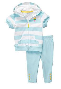 Carter's Ice Cream Striped 2-Piece Cardigan Set