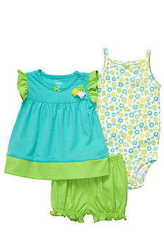 Carter's 3-Piece Floral Diaper Cover Set