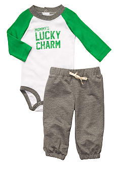 Carter's Mommy's Lucky Charm Pant Set