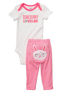 Carter's Turn Me Around Bunny Pant Set