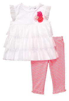 Carter's 2-Piece Ruffled Tunic and Legging Set