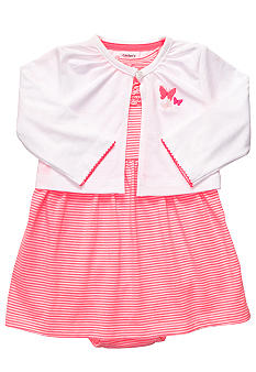 Carter's 2-Piece Neon Striped Dress Set