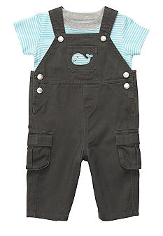 Carter's Whale 2-Piece Overall Set