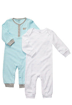 Carter's 2-Pack Whale Coveralls