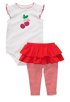 Carter's Little Cutie Cherry 2-Piece Bodysuit