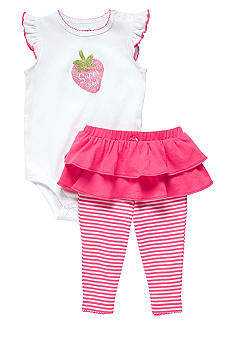 Carter's Super Sweet Strawberry 2-Piece Bodysuit