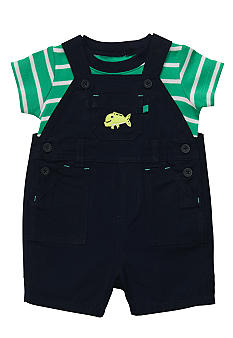 Carter's 2-Piece Striped Shortall Set