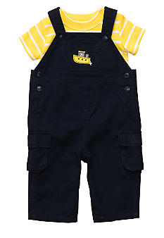 Carter's 2-Piece Tugboat Overall Set