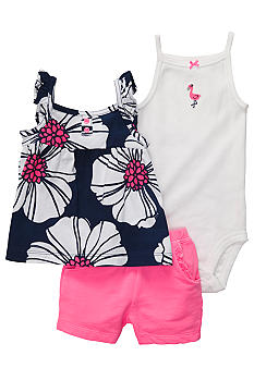 Carter's 3-Piece Floral Short Set