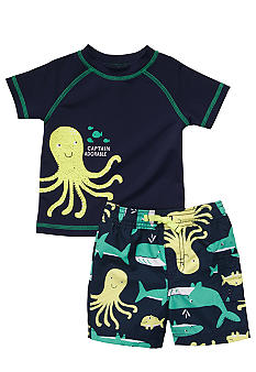 Carter's 2-Piece Octopus Swim Set