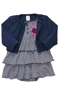 Carter's Striped Ruffle Dress Set