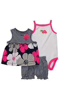 Carter's 3-Piece Mixed Print Diaper Cover Set
