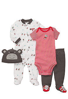 Carter's 4-Piece Rhinoceros Set