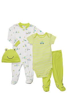 Carter's 4-Piece Frog Set