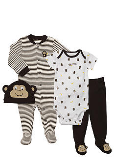 Carter's 4-Piece Monkey Set