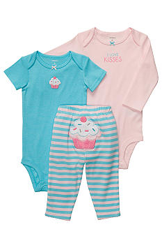 Carter's 3-Piece Cupcake Pant Set