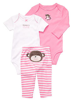 Carter's 3-Piece Monkey Pant Set