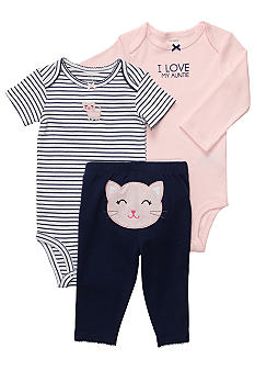 Carter's 3-Piece Kitten Pant Set