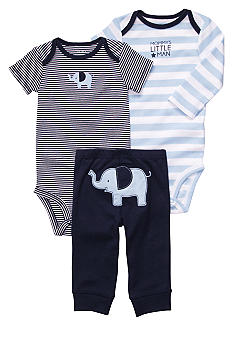 Carter's 3-Piece Elephant Pants Set