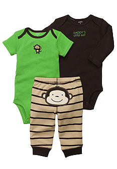 Carter's 3-Piece Monkey Pants Set