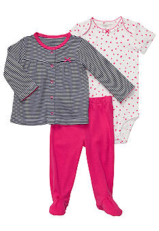 Carter's 3-Piece Footed Set