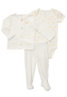 Carter's 3-Piece Footed Duck Set