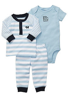 Carter's 3-Piece Elephant Pant Set