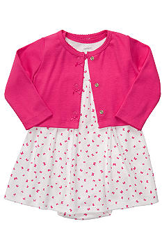 Carter's 2-Piece Dress With Cardigan Set