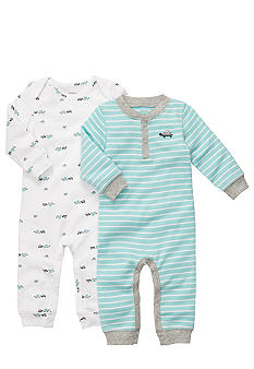 Carter's 2-Pack Turtle Coveralls