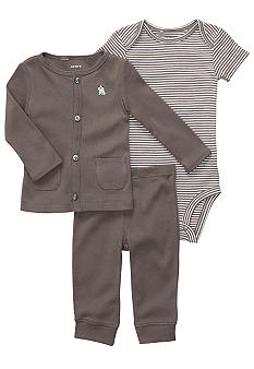 Carter's 3-Piece Dog Cardigan Set