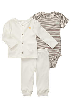 Carter's 3-Piece Duck Cardigan Set