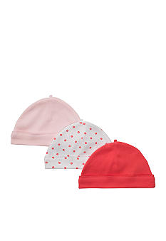 Carter's 3-Pack Flower Print Caps
