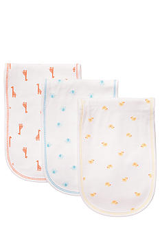 Carter's 3-Pack Animal Print Burp Cloths