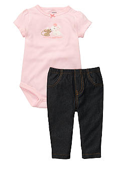 Carter's 2-Piece Mouse Bodysuit Set
