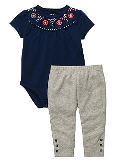 Carter's Bodysuit And Pant Set