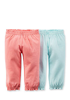 Carter's 2-Pack Cinched Waist Pants