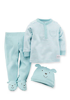 Carter's 3-Piece Henley, Pant and Hat Set