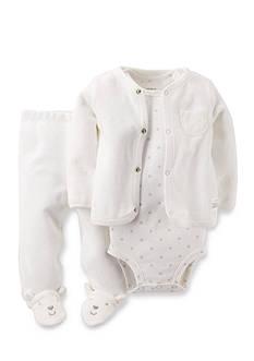 Carter's 3-Piece Bodysuit, Pants, and Sweater Set