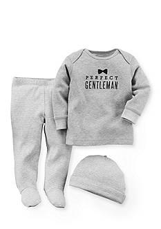 Carter's 3-Piece 'Perfect Gentleman' Shirt, Pants and Cap Set