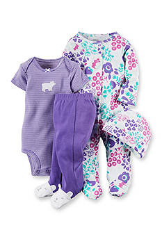 Carter's 4-Piece Bear Outfit Set