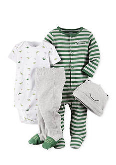 Carter's 4-Piece Striped Sleep and Play Set