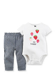 Carter's 2-Piece Strawberry Bodysuit and Pants Set