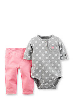 Carter's 2-Piece Dot Bodysuit and Pant Set