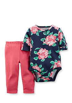 Carter's 2-Piece Floral Bodysuit and Pants Set