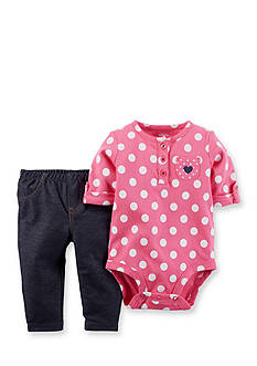 Carter's 2-Piece Dot Bodysuit and Pant Set
