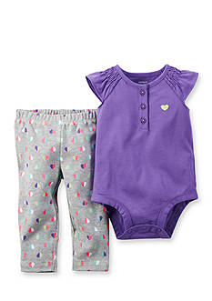 Carter's 2-Piece Solid Bodysuit and Pants Set